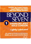 Beyond Seven Condom Ultra Thin Lightly Lubricated 12 Pack