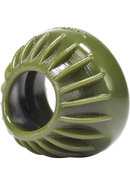 Oxballs Turbine Silicone Cockring Army Green 1.75 Inch