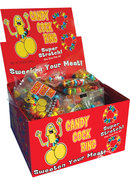 Candy Cock Ring 50 Piece Display