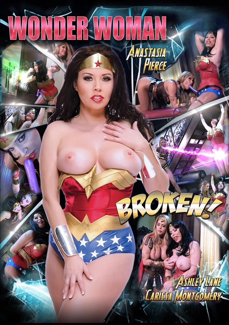 Wonder Woman Broken